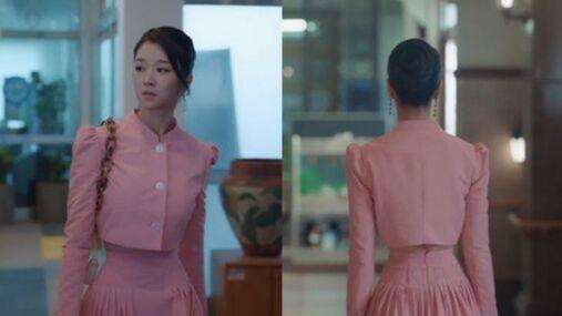 민주킴 서예지 분홍 의상.jpg