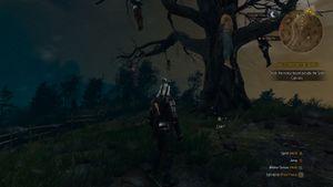The Witcher 3 (위쳐 3) 빛나는 레어 아이템 모드 적용 화면 2.jpg